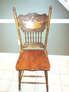 An antique chair Saved by Scotte