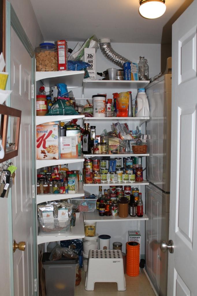 new pantry full