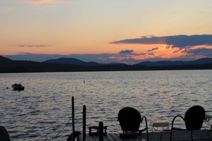 ADK sunset